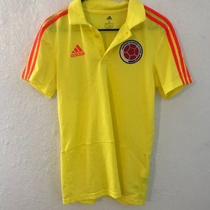 Colombian jersey with collar size small